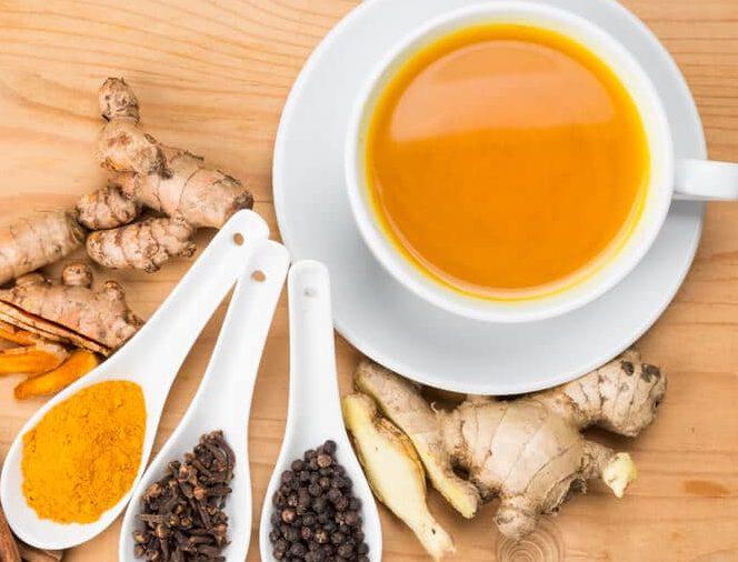 turmeric-tea for candida and psoriasis