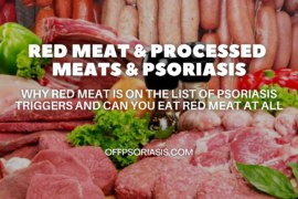 Red Meat and Processed meats and Psoriasis